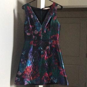 Floral Shimmer Dress